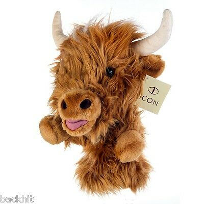 New - Paterson Icon Golf Novelty Highland Cow Driver Headcover