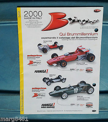2000 Brumn Toy Catalogue, 1/43 scale, English & Itialian Text, Printed in Italy