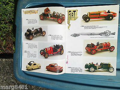1981 Brumn Toy Catalogue, 1/43 scale, English & Itialian Text, Printed in Italy