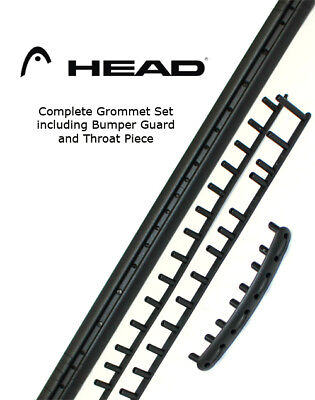 HEAD CROSSBOW AIRFLOW 7 GROMMETS - tennis racquet racket bumper guard (285459)