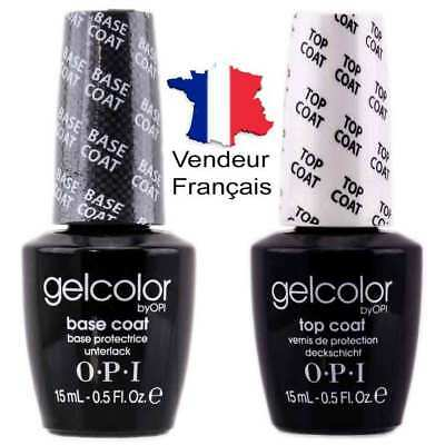 Opi  Base Coat + Top Coat Vernis a ongle nail art