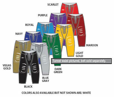Lot of 25 New Reebok Adult Football Pants Various Sizes & Colors A201