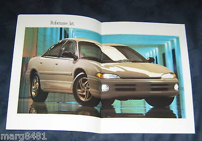 """'94 Chrysler Intrepid Sales Brochure, 28 pages 12"""" - 9'  excellent condition"""