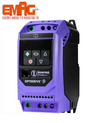 Invertek Optidrive E3 IP20 - Single Phase in - 3 Phase out - select options