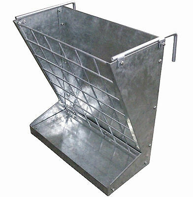 Classic 2 In 1 Feeder 168793 Goat Sheep Lamb Lama Alpaca Grain & Hay Rack Feed