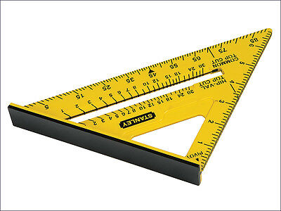 "Stanley Dual Colour Quick Roofing/Rafter Square 150mm 6"" STHT46010"