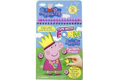 Peppa Pig Fun With Foam DIY 3D Pictures Girls Creative Craft Novelty Party Favor