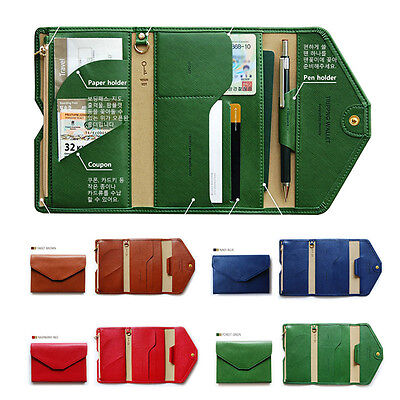 New Credit ID Card Case Cover Travel Passport Holder Organizer Bag Purse Wallet