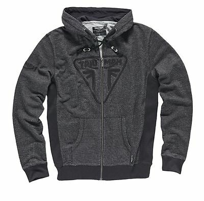 Triumph Mens Performance Logo Zip Hoody