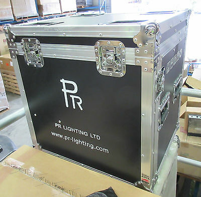 PR Lighting Flight Case for XLED500 - 570x470x560mm - Heavy Duty Case w. Wheels
