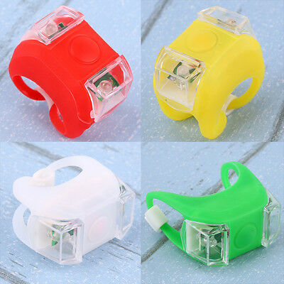 3 Flash Modes Night Silicone Caution Light Lamp for Baby Stroller Accessories