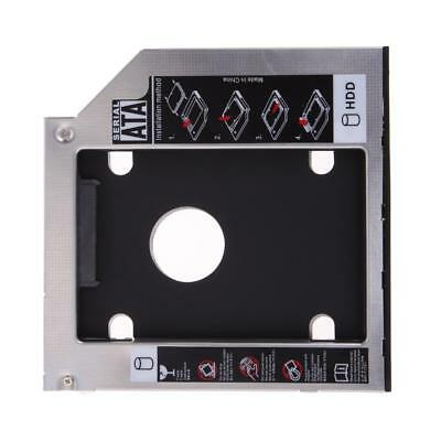 9.5mm Universal SATA 2nd HDD SSD Hard Drive Caddy for CD/DVD-ROM Optical Bay Hot