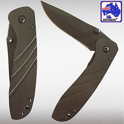 Foldable Pocket Knife Camping Hiking Fishing Hunting Blade OKNIF6679