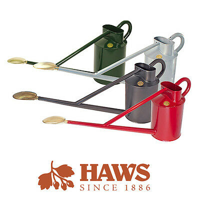 Haws 8.8 Litre Metal Professional Long Reach Garden Watering Can 4 Colours
