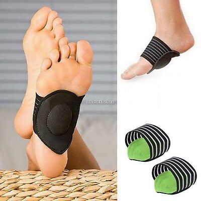 Heel Foot Pain Relief Arch Shoes Plantar Fasciitis Insole Pads Insert N98B
