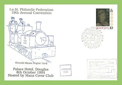 Isle of Man 1994 £5 Holographic Definitive on Convention Cover Jack Cachet