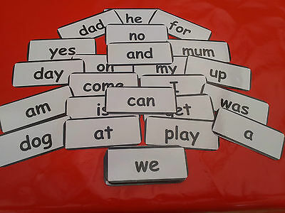 Reception Words -  Flash Cards - Early Years Eyfs - Home/class -Read/write/spell