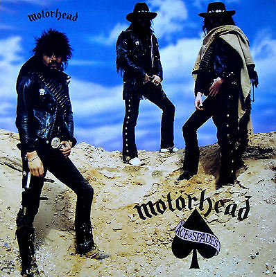 Motorhead..Ace Of Spades.. Iconic Album Cover Poster A1A2A3A4 Sizes