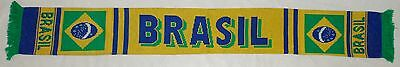 Brazil 'Brasil' National Flag Football Scarf *