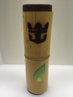 Royal Caribbean Cruise Bamboo Water Bottle Souvenir Drink Mug Cup Plastic RCCL