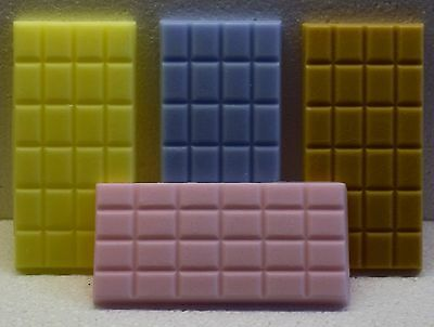 Any FOUR Handmade Highly Scented Wax Melt Bars for £11.50 . over 350 fragrances