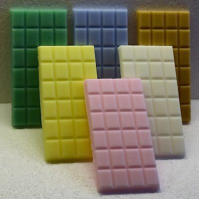 Any SIX Handmade Highly Scented Wax Melt Bars for £16.50. over 350 fragrances