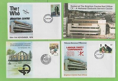 GB Collection of eleven Covers and one Postcard Brighton Thematics