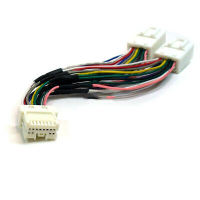 For Nissan QASHQAI 1 & 2 MP3 SD USB CD AUX Input Audio Adapter Module Y Cable