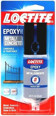 New! .85 oz LOCTITE Epoxy Metal & Concrete 2-Part Adhesive High Strength 1919325