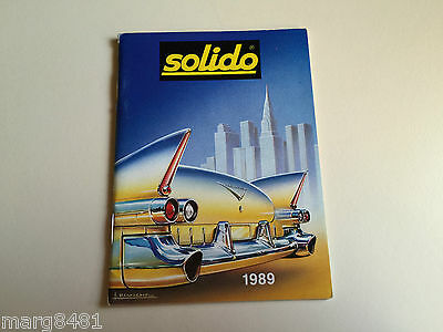 1989 Solido Collector's Mini Catalogue, Printed in France