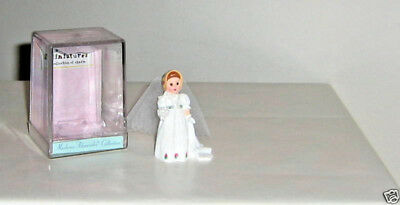 Empire Bride - 1998, Miniature Figure,  Madame Alexander, Hallmark with case
