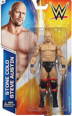 WWE Stone Cold Steve Austin wrestling figure Mattel Basic new/sealed