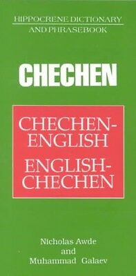 Chechen/English-English/Chechen Dictionary and Phrasebook by Nicholas Awde Paper