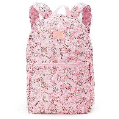 My Melody Folding Backpack Carry On Pink ❤ Sanrio Japan Travel