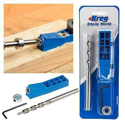 Kreg Pocket Hole Jig Mini Kit with Step Drill Bit & Depth Collar 635709