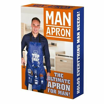 The Ultimate Man Apron - Chef Novelty Cooking BBQ Aprons