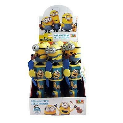 12 x Park Avenue Minions Fan with Mini Jelly Beans 10g