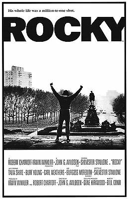 Home Wall Art Print - Vintage Movie Film Poster - ROCKY BALBOA - A4,A3 - CLASSIC