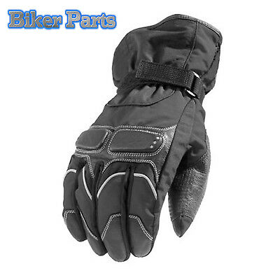 Winter Textile and leather Biker Motorcycle Motorbike scooter Waterproof Gloves