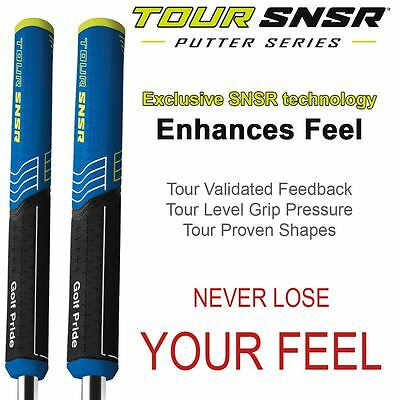 2016 Golf Pride Tour SNSR Oversize Straight Soft Mens Putter Grip