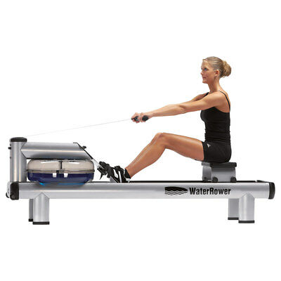WaterRower Rudergerät M1 HiRise Metall inkl S4 Monitor Heimtrainer Rudermaschine