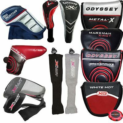 Callaway Golf Club Headcovers - viele Optionen (Driver, Hybrid, Putter) SALE