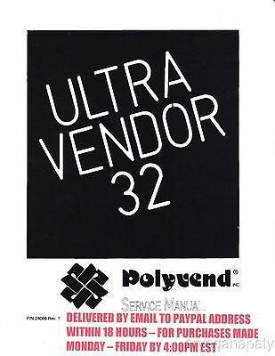 Polyvend Ultra Vendor 32 (50 Pages) PDF sent by email