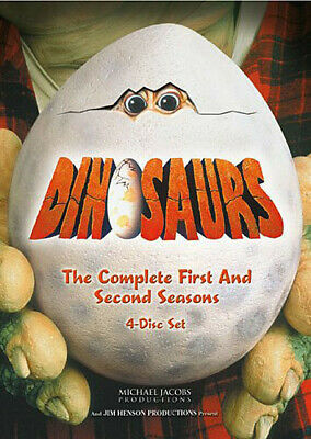 Dinosaurs: Complete First & Second Season - 4 DISC SET (2016, DVD NEW)