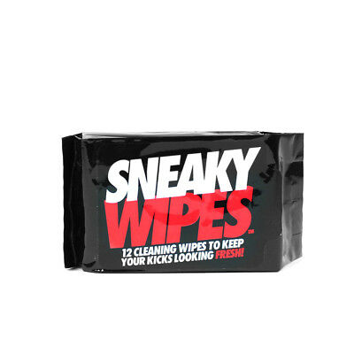 Sneaky Wipes - clean your trainers shoes creps boots suede leather sneakers
