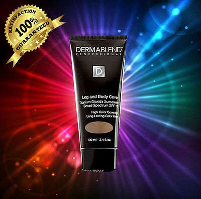 "Dermablend SPF 15 Leg And Body Cover"" NATURAL' 3.4 oz / 100 ML *NEW IN BOX*"