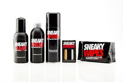 Sneaky Shoe Care Cleaning Kit - protect your sneakers, trainers, shoes and creps