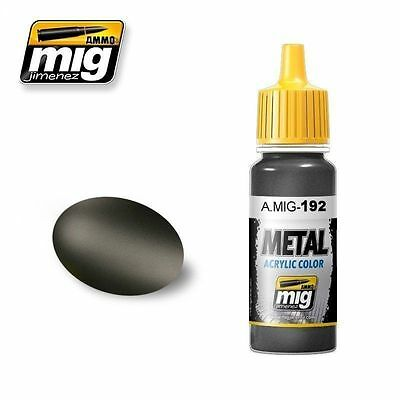 Ammo Of Mig Metal Acrylic Color Polished Metal Amig192