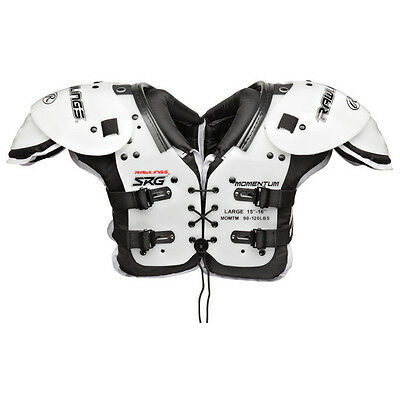 NEW Rawlings Youth Momentum SRG Football Shoulder Pads - MOMTM - MSRP $49.80
