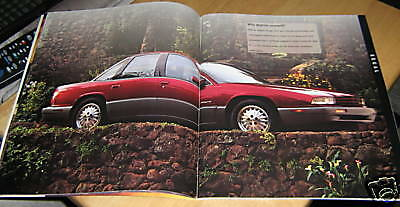 """1995 Buick Sale Brochure, 66 pages, 11"""" high by 9"""" wide, great condition"""